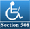 Website accessibility rating Section 508 approved by section508.info